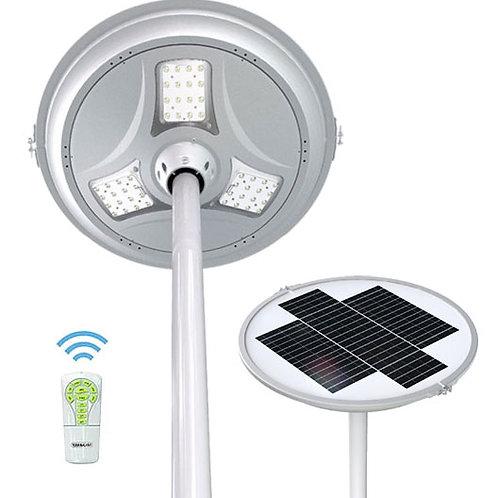 Luminária Solar Plaza 30 W com Controle para poste de 5 m 3.000 Lúmens