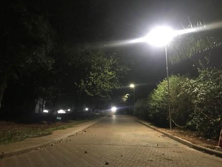 Luminárias Solares na Bayer