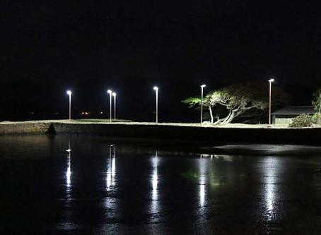 Prefeitura instala Luminárias Solares em Cais do Porto