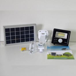 Refletor Solar 10 W com Sensor e Suporte