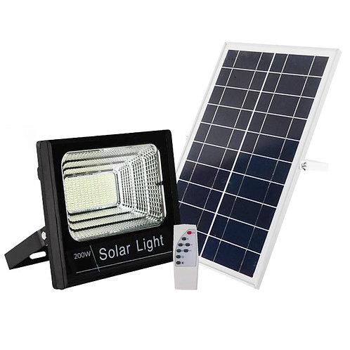 Refletor Solar 200 W com Controle 8500 Lúmens