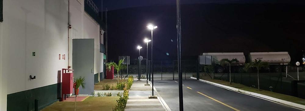 Luminárias Solares da Fotovolt em PCHs
