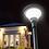 Thumbnail: Luminária Solar Circular 10 W para poste de 3 a 4 m 1000 Lúmens