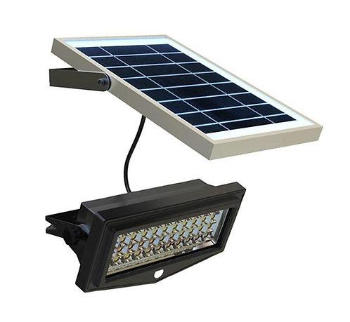 Refletor Solar de Segurança 10 W com Sensor de Presença 1000 Lúmens