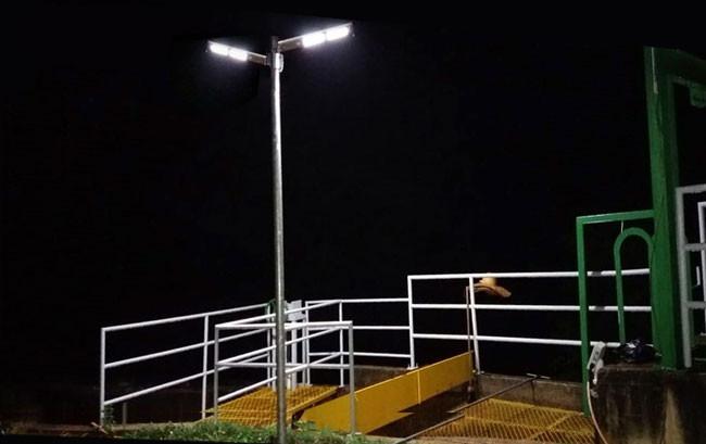 Luminárias Solares da Fotovolt em PCHs da Hy Brazil