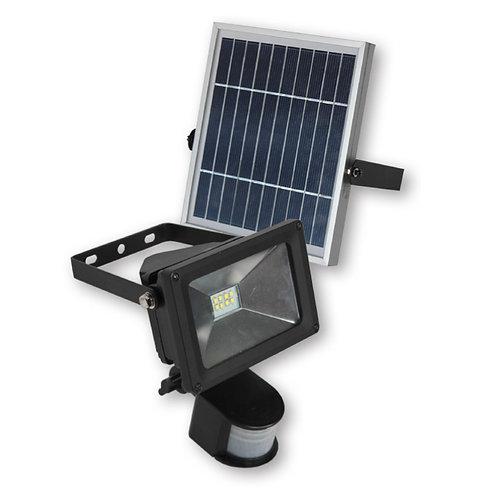 Refletor Solar 8 W com Sensor de Presença 800 Lúmens