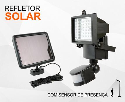 Refletor Solar com Sensor