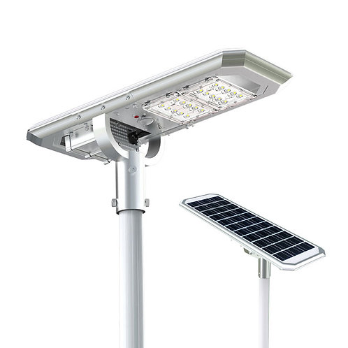 Luminária Solar Atlas 20 W All-in-One para postes de 3 a 4 m 2.000 Lúmens
