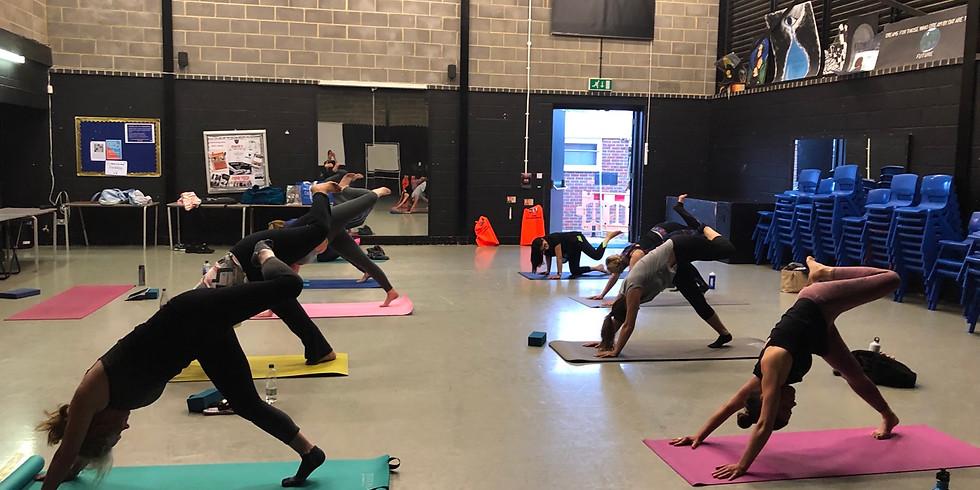 Wednesday Evening Hatha Yoga Flow Class 8:15pm @ Holmer Green Senior School