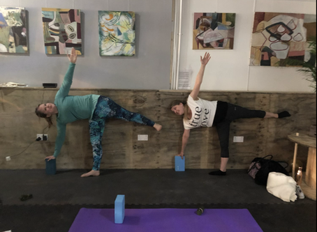 Come back to your mat! The Return of Live and in person Yoga Classes...