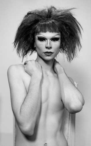 VINCE VANITY FOR CULT MAGAZINE ISSUE 1.