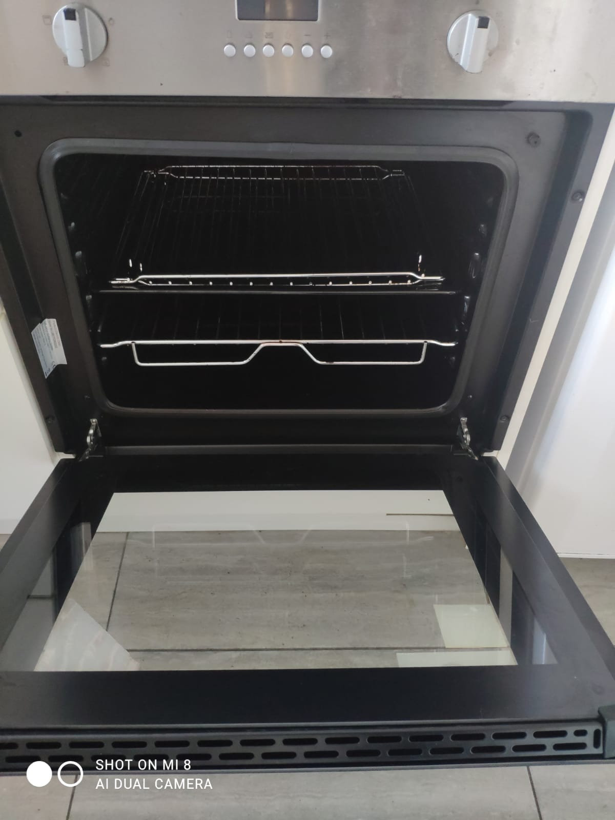 Deep Oven Cleaning