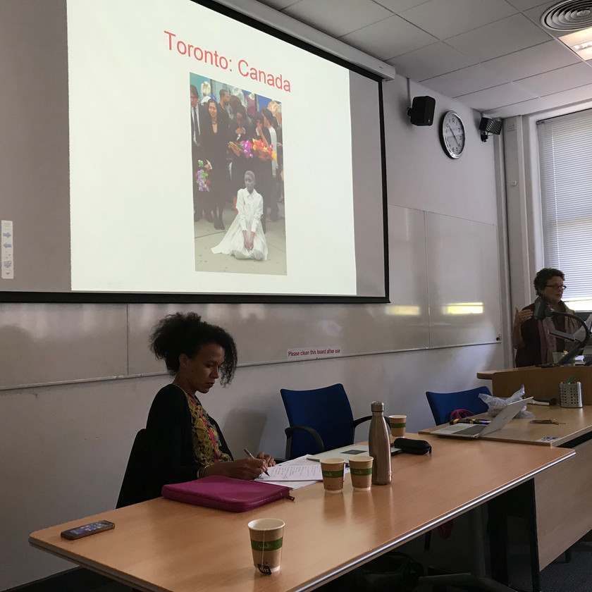 Panel on 'Blackness, justice and temporalities of violence'