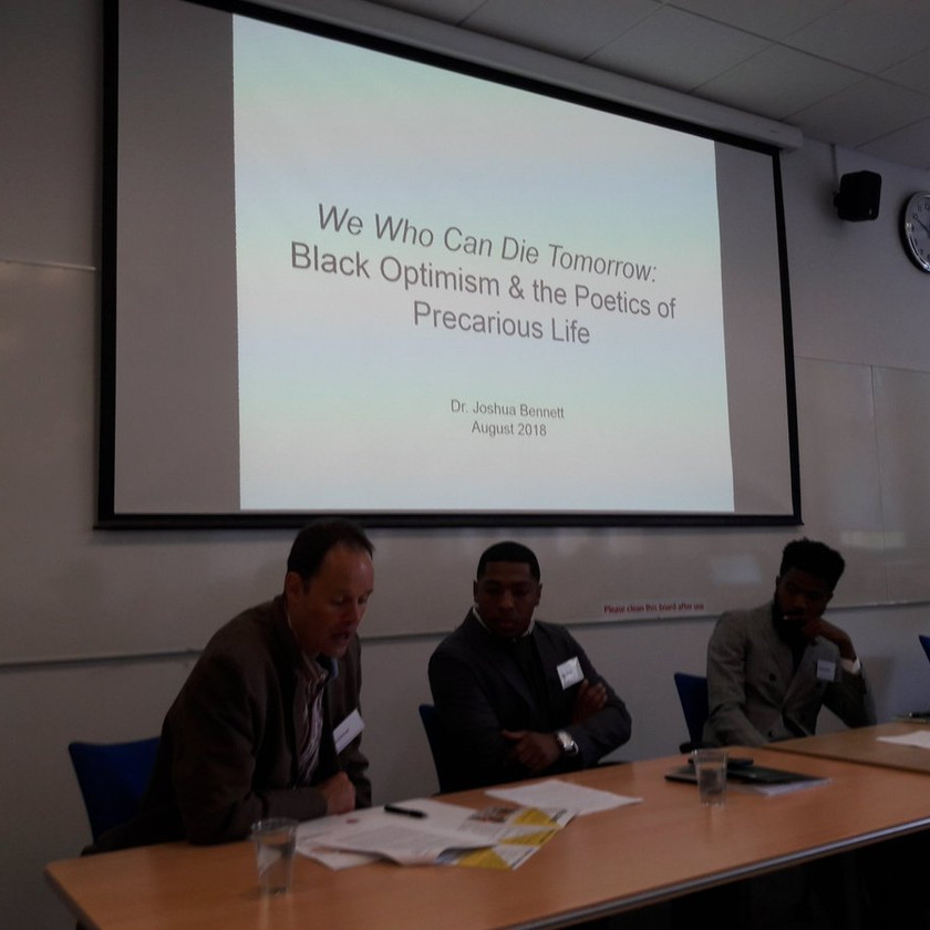 'Two inquiries into Black social life' panel