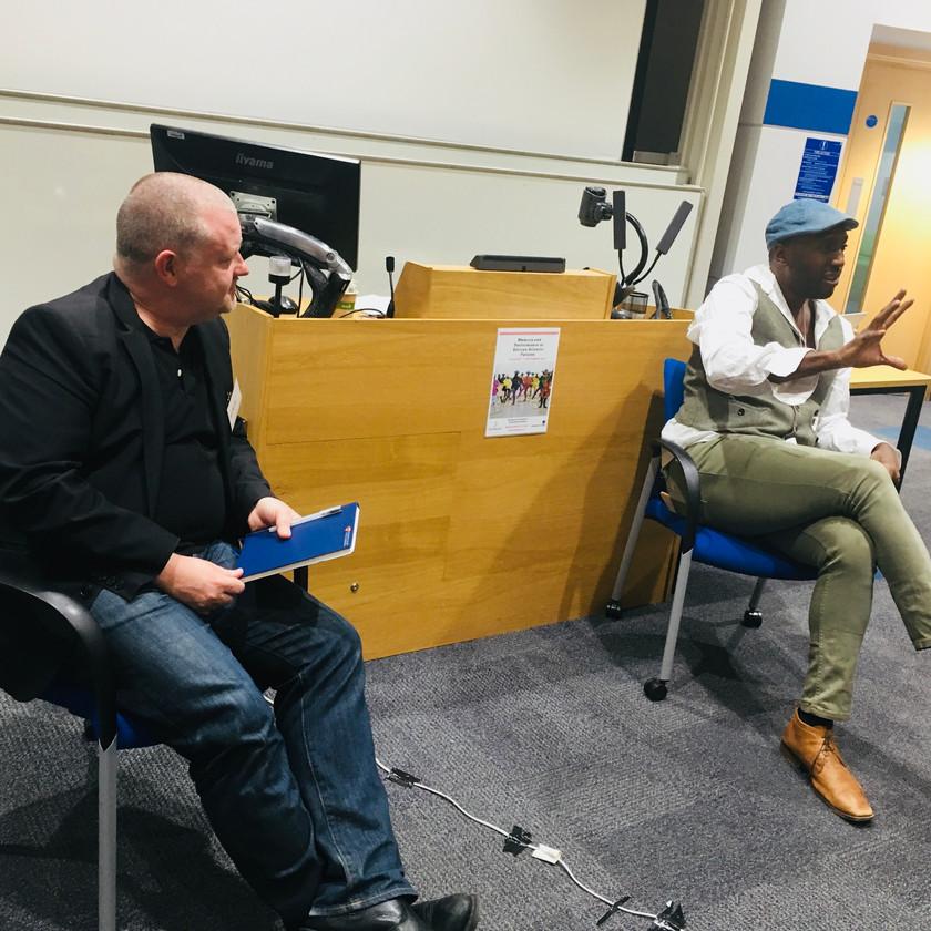 John McLeod in conversation with Kei Miller