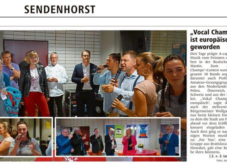 Vocal Champs Presseberichte (WN)