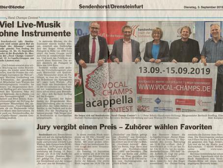 """""""Viel Live-Musik ohne Instrumente"""" (Die Glocke Vorbericht)"""