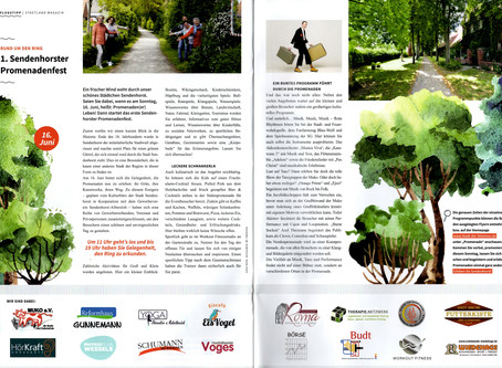 """1. Sendenhorster Promenadenfest"" (stadtland magazin Vorbericht)"