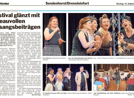 Vocal Champs Presseberichte (Die Glocke)
