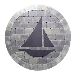 Sailboat Silhouette - SKU: SAB001