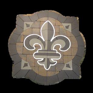 Acanthus Fleur-De-Lis - SKU: ELCANF01SP3