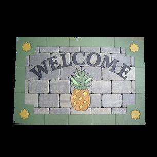 Welcome Mat - Custom - KU:  CWM001SP5