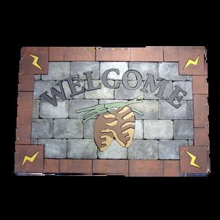 Welcome Mat - Custom - KU:  CWM001SP4