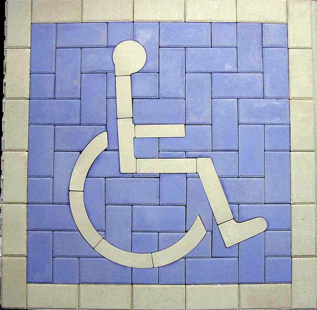 PAVERART Handicap Parking Kit