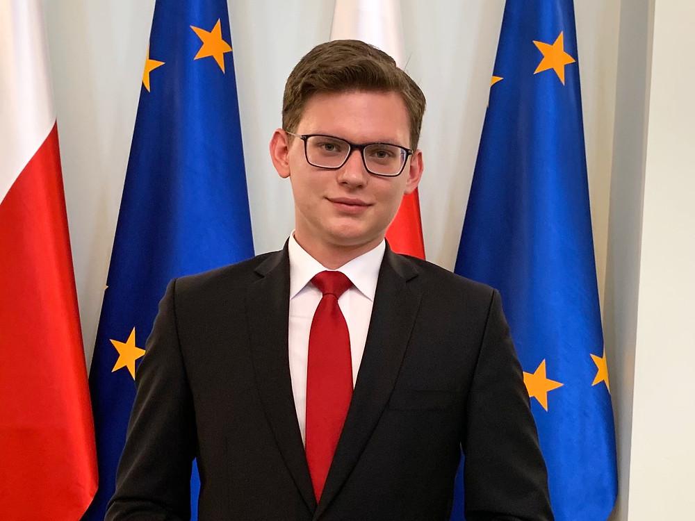 Jakub J. Staniewski, President of the Polish Youth Association