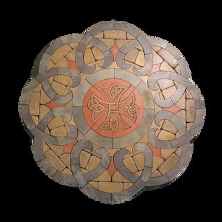 Rotunda with Celtic Cross - SKU: ELROTCC01