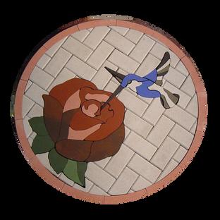 Hummingbird with Rose - SKU: GH002