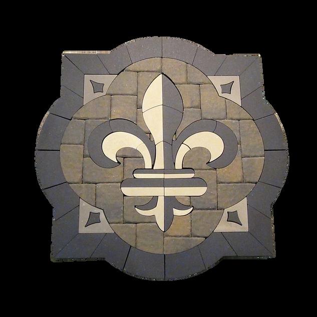 Acanthus Fleur-De-Lis - SKU: ELCANF01SP2