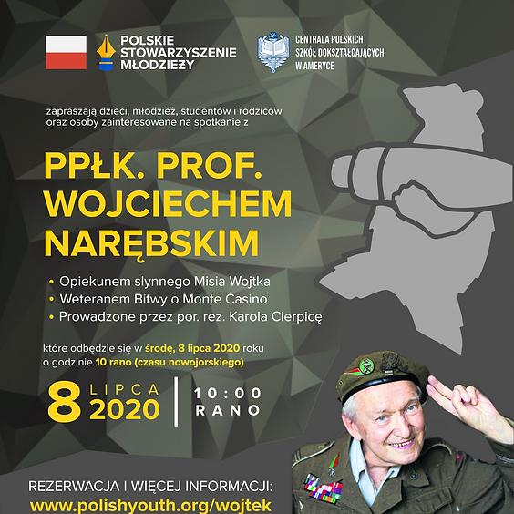 Spotkanie z ppłk. prof. Wojciechem Narębskim