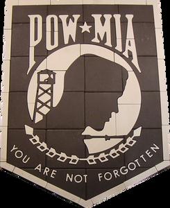 POW Memorial, PAVERART, custom design, Paver Logo