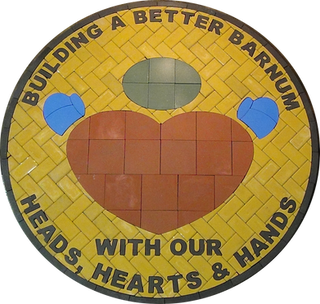 Barnum Elementary Paver Logo