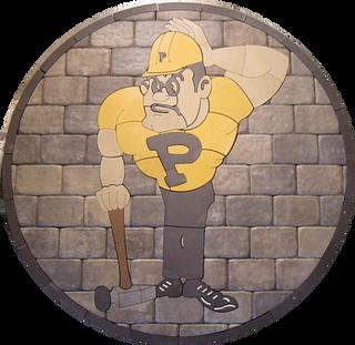 Purdue University Boilermakers Paver Logo