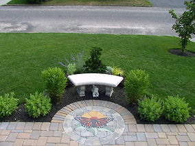 PAVERART Nature Series of patio and driveway inlay designs
