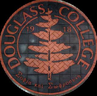 Douglass College - Rutgers Paver Logo