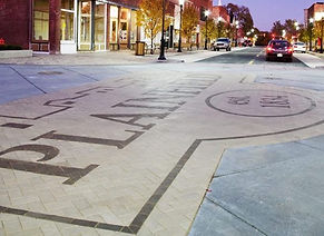 PaverArt-Custom Paver Streetscapes-Plainfield, IL for Municipality