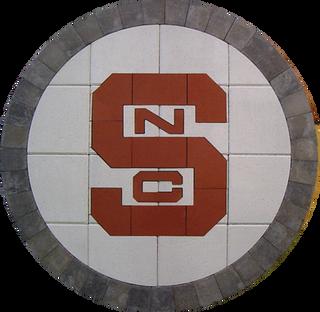 North Carolina State #2 Paver Logo