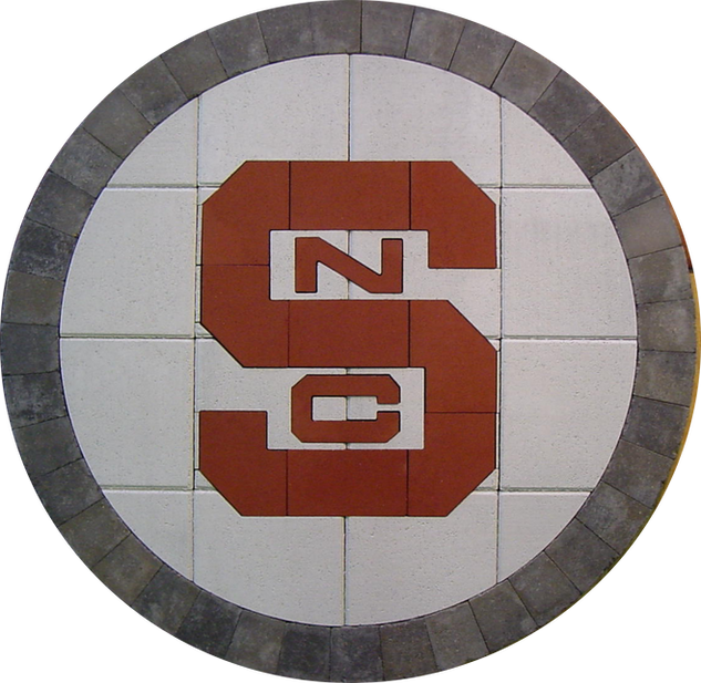 North Carolina State #2 Paver Logo