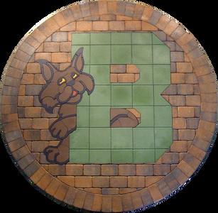 Bedminster Elementary School Paver Logo