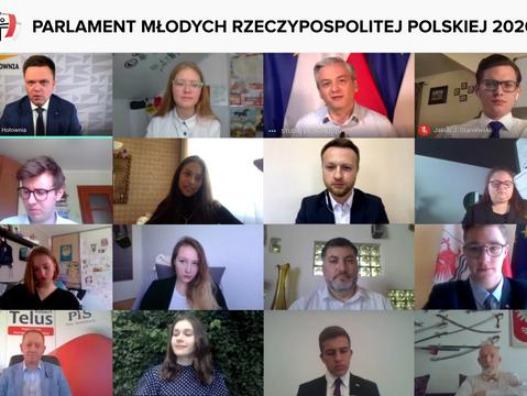 Parlament Młodych Rzeczypospolitej Polskiej 2020