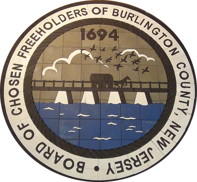 Burlington County NJ Town Seal