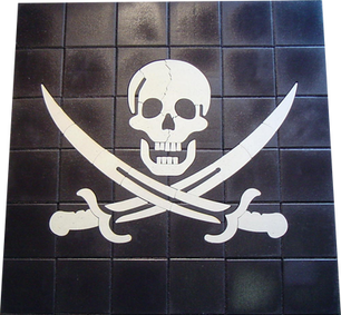 Skull & Cross-Swords - SKU:  SYM001
