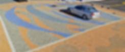 PAVERART Municipal Streetscape Artistic design for Intersections