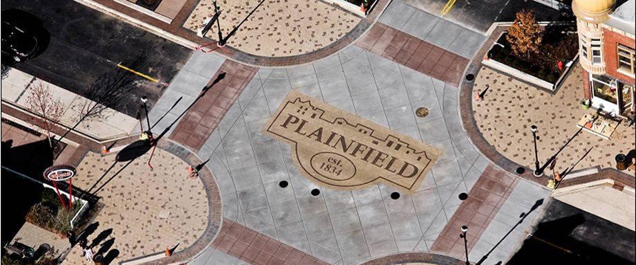Custom Plainfield Streetscape