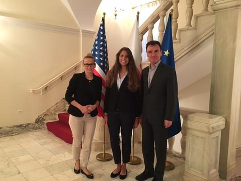 Spotkanie z przedstawicielami Konsulatu Generalnego w Chicago