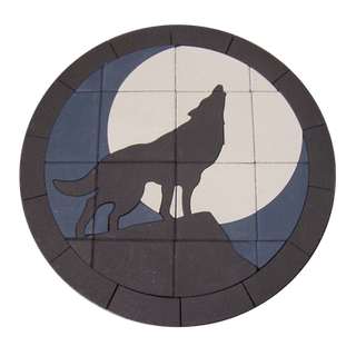 Coyote & Full Moon - SKU: CFM001