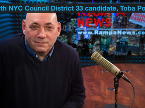 Interview with NYC Council District 33 candidate, Toba Potosky